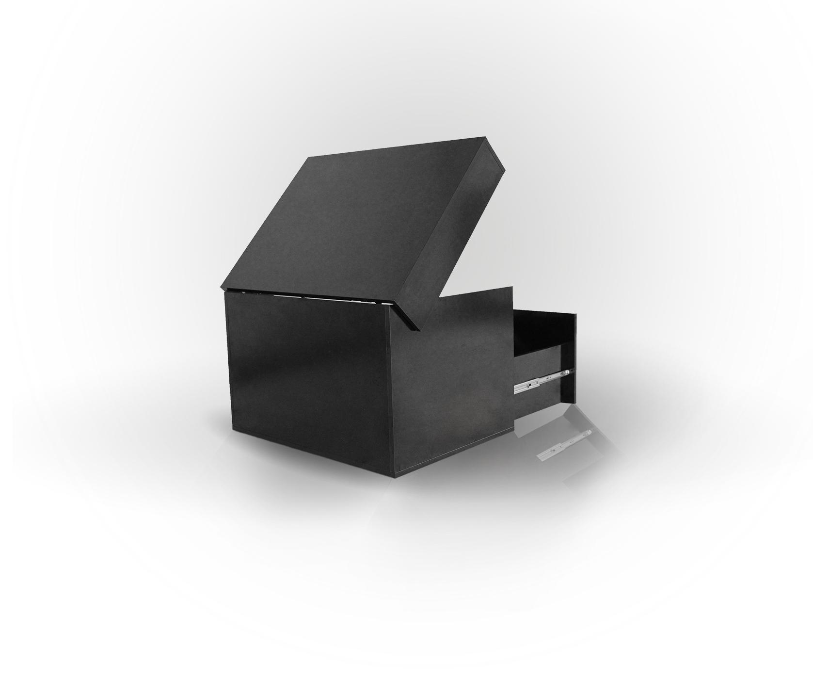 Sneakerbox schwarz