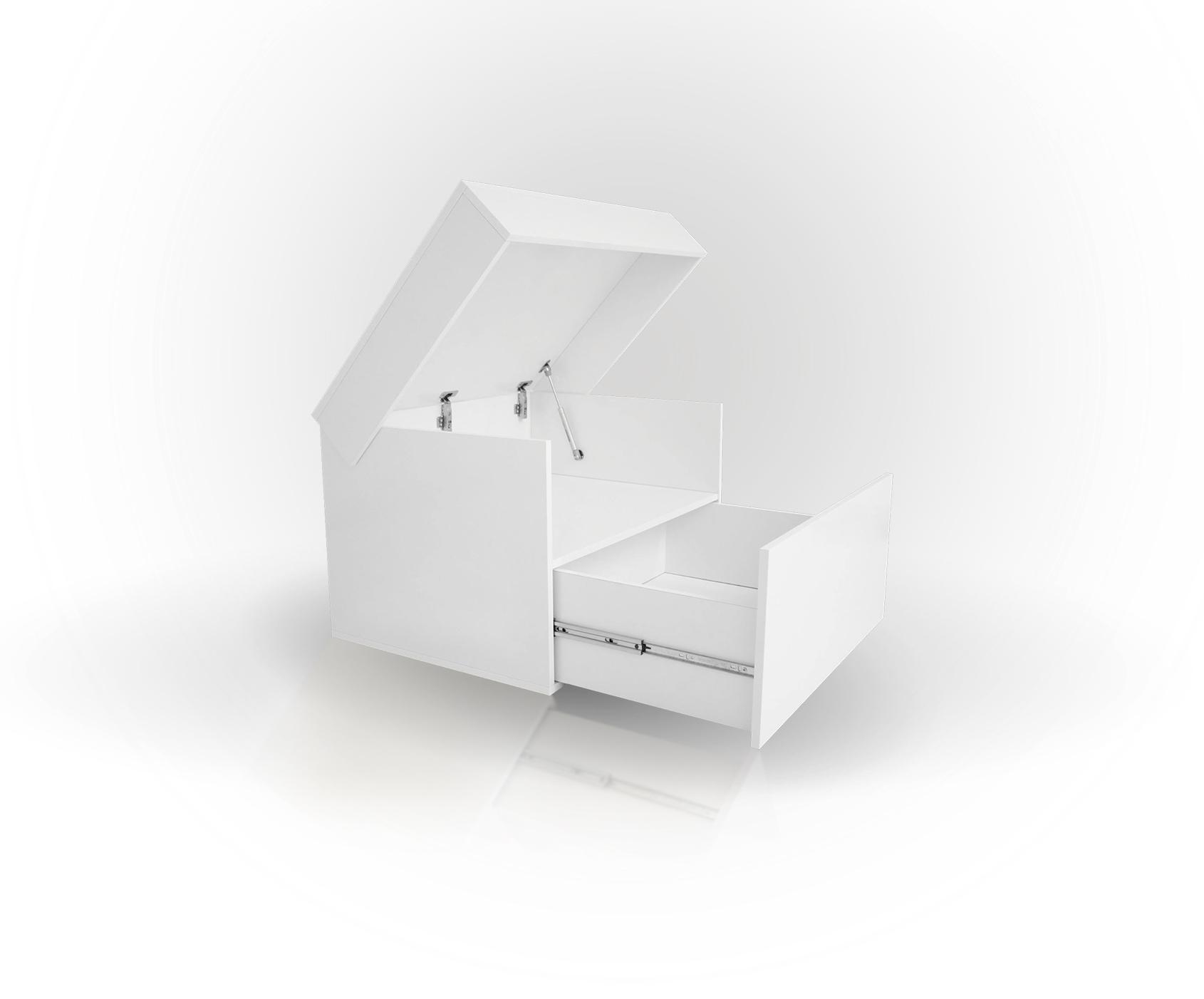 Sneaker Box weiß