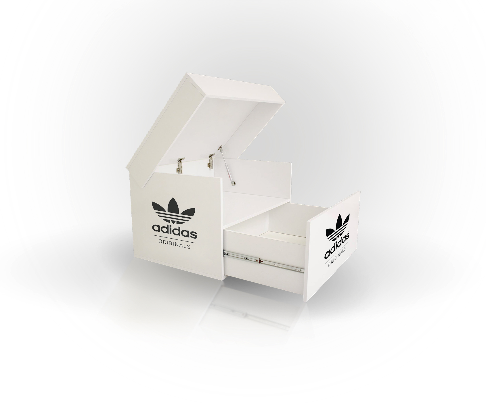 Sneakerbox Adidas originals